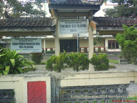 Kantor Balai Desa Palbapang
