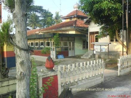 Masjid Al-Husna yang berada di Kompleks Balai Desa Palbapang
