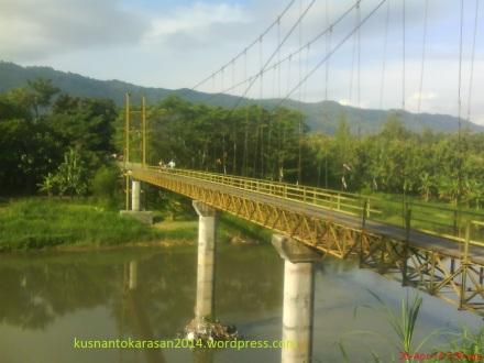 Jembatan Pundong dari sisi Timur Laut.