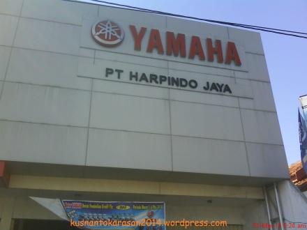 Dealer Yamaha HARPINDO JAYA, Jl. Wachid Hasim No. 6 Nggose Bantul Telp. 368816, 368817 Yogyakarta.