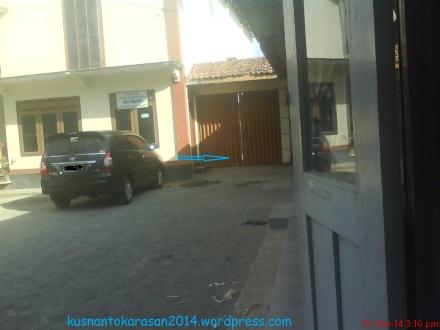 Pintu masuk sebelah Barat Kantor Pemerintah Desa Palbapang.