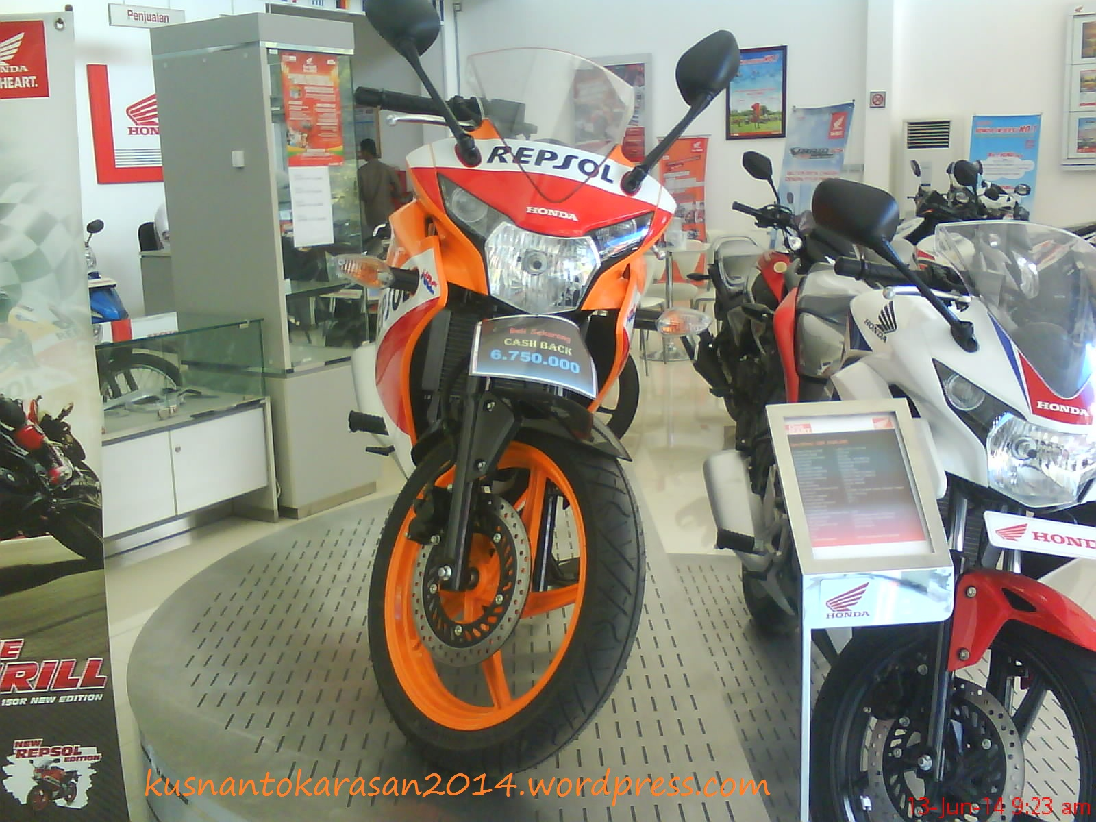 December 2014 Page 3 All New Cb 150r Streetfire Honda Racing Red Kab Semarang Tampak Depan Cbr Edisi Repsol Produk Import Thailand