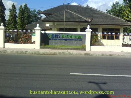 Kantor Cabang BPJS-Kesehatan Bantul yang dulu untuk kantor ASKES yang berada di Jl.