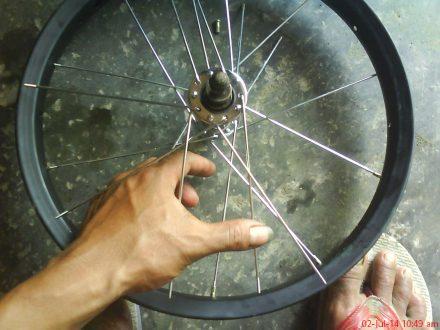 pasang ruji sepeda