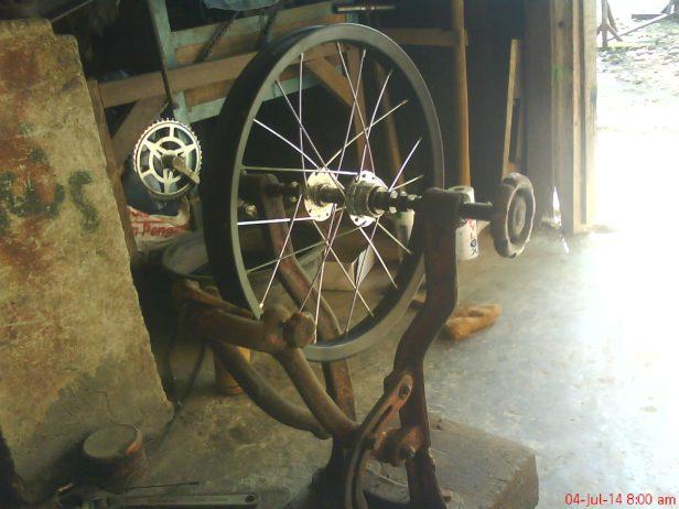 alat stel roda sepeda