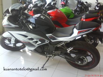 Ninja 250 warna putih