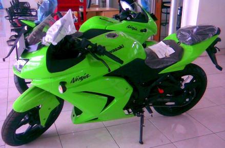 Motor Kawasaki Ninja 250R