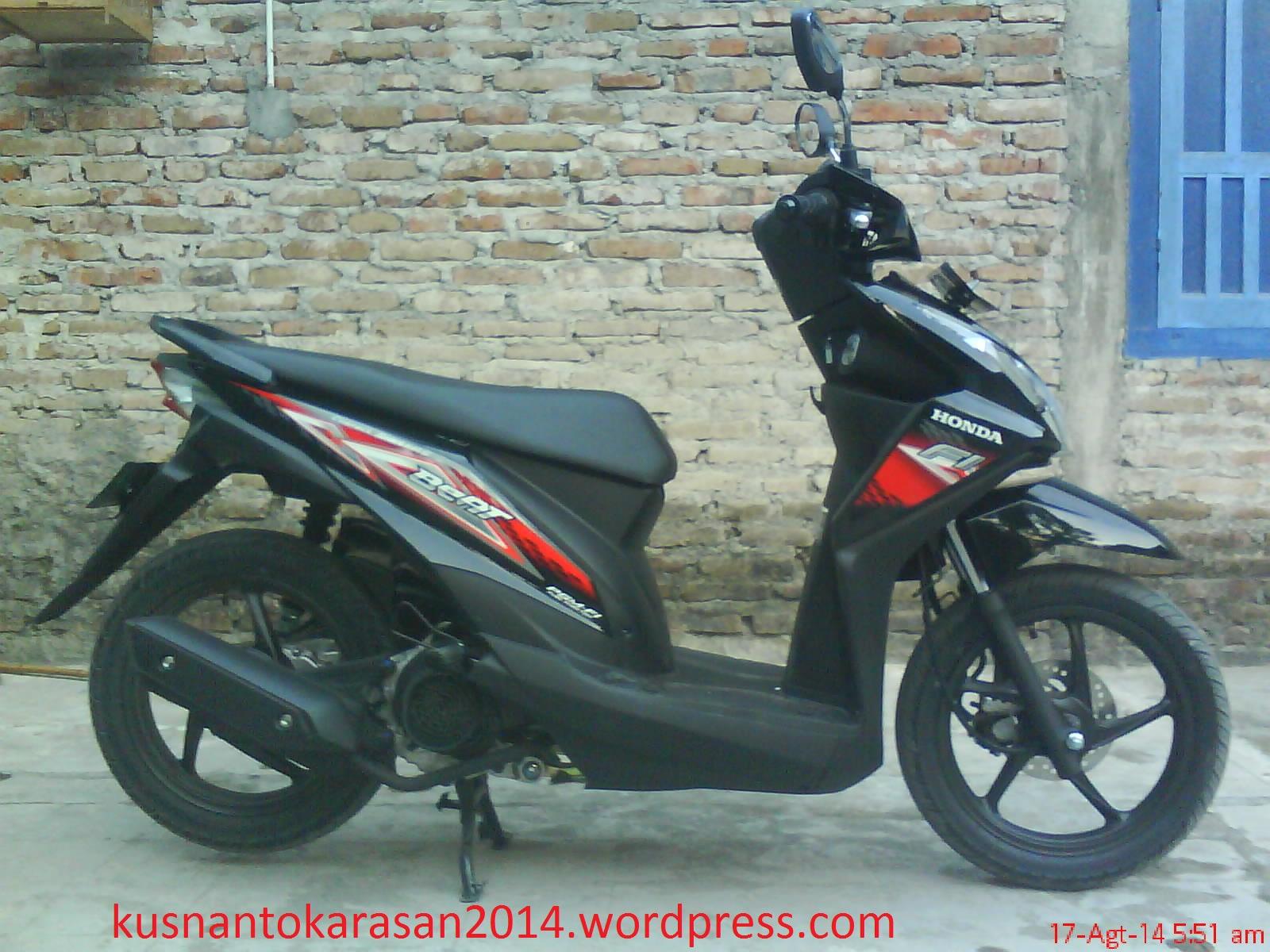 Gambar Asli Honda Beat 2104 Warna Hitam Kusnantokarasan Com