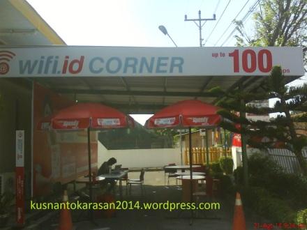 wifi.id corner di Kantor Telkom Bantul
