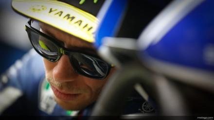 Rossi cedera gegar otak rigan saat balap di Aragon