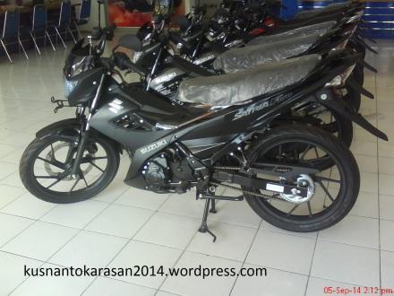 Satria FU Black Predator