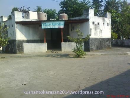 kanar mandi & toilet Pasar Pijenan