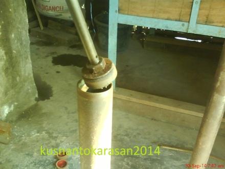 penampakan perdana klep lama pada pompa