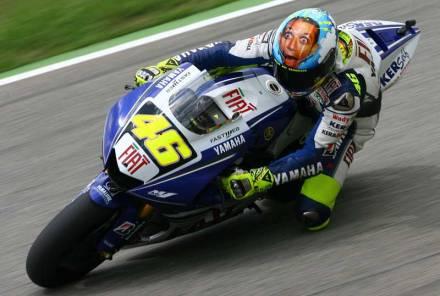 Aksi Valentino Rossi