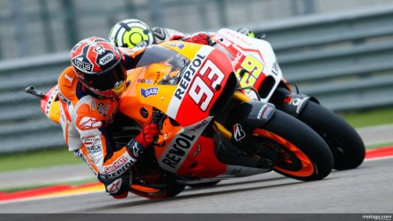 Marquez bertarung dengan Iannone