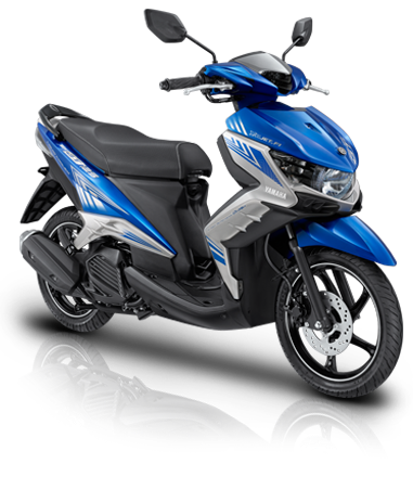 New GT 125 Eagle Eye warna Biru- Premium Blue