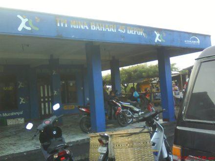 Tempat Pelelangan Ikan (TPI) pantai Depok-Parangtritis