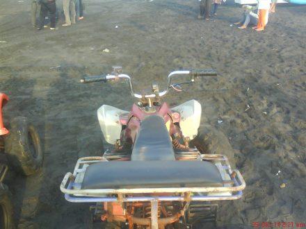 Tampak atas ATV di pantai Depok-Parangtritis
