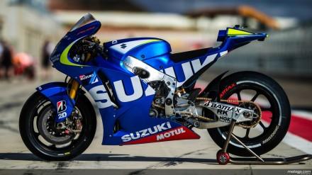 motor Suzuki untuk MotoGP 2015