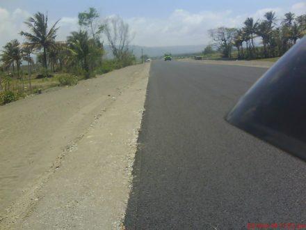 Jalan Poncosari - Greges sekitaran Utara pantai Goa Cemara
