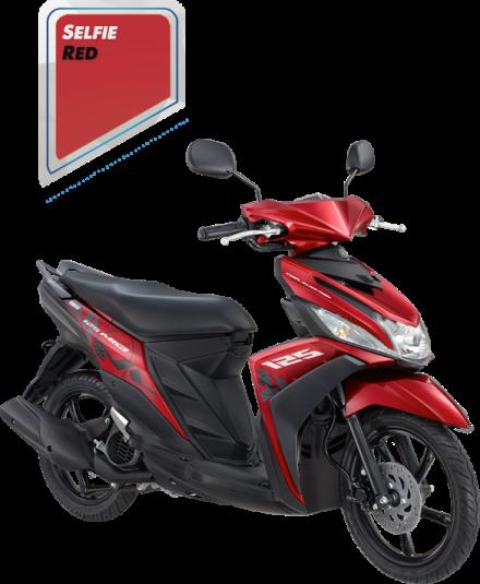 Mio M3 125 warna merah