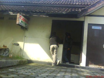 Tempat fotocopy di Polres Bantul yang berada diujung Timur