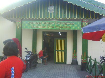 Anjungan pameran pembangunan pemerintah kota Yogyakarta