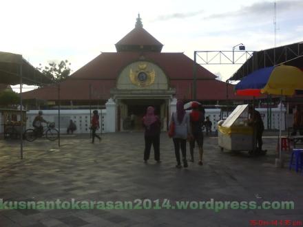 Tampak depan masjid gedhe Kauman Yogyakarta