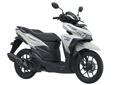 Vario 150 eSP tipe Exclusive warna Pearl White