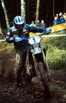 Stefan Merriman empat-kali juara dunia dengan Yamaha