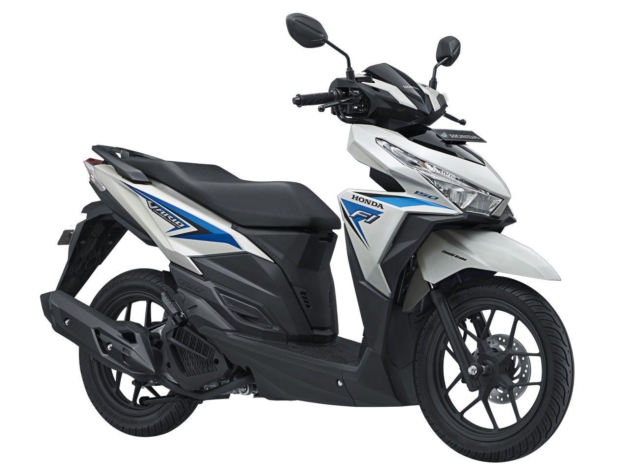 vario 150 eSP tipe sporty warna Sonic White Blue