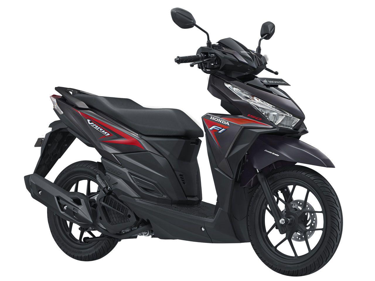 Vario 150 eSP tipe sporty warna Titanium Black