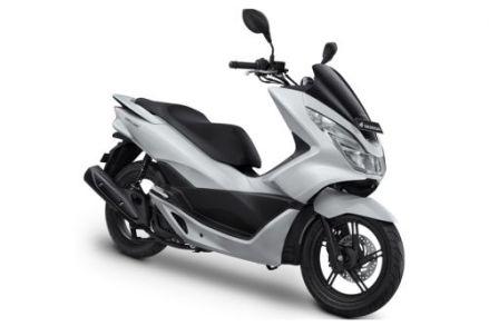 PCX 150 warna glamour white / putih