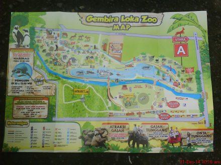 Peta Gembira Loka Zoo
