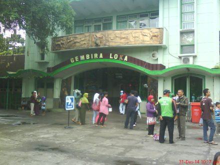 Pintu masuk Gembira Loka Zoo