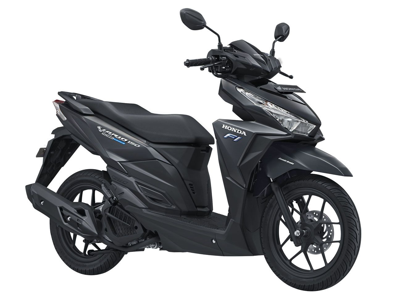 Vario 150 eSP tipe Exclusive warna Matte Black