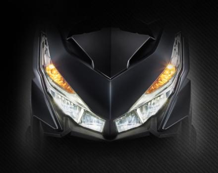 Lampu depan Vario 150 eSP Dual Keen Eyes