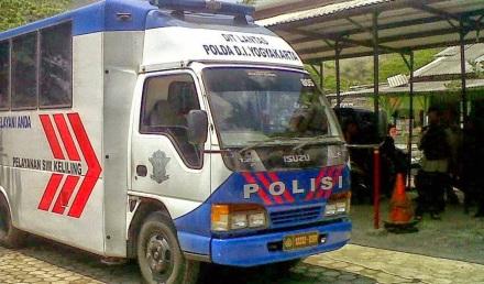 Mobil Pelayanan SIM Keliling wilayah Bantul