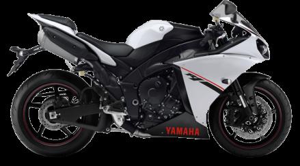 Yamaha YZF-R1 warna Putih