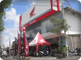 Ilustrasi - Show room Dealer Bantul Motor Wahana Maju, Jl. Raya Bantul Km 10 No.8 (Utara Perempatan Klodran) Melikan Lor.