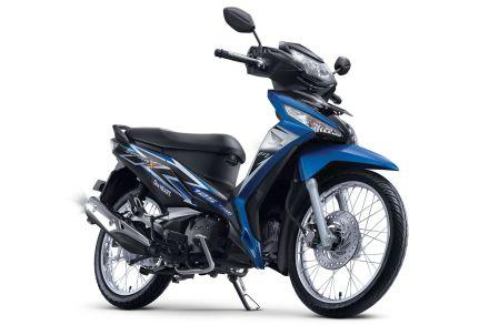 Honda Supra X 125 warna Fabulous Blue/ Biru