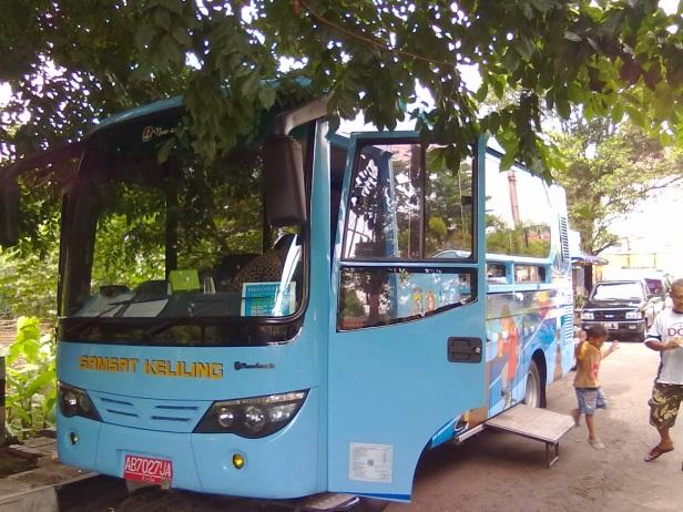 Bus Samsat Keliling Yogyakarta