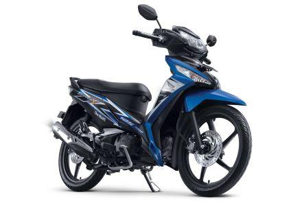 Honda Supra X 125 tipe SW warna Fabulous Blue/ Biru