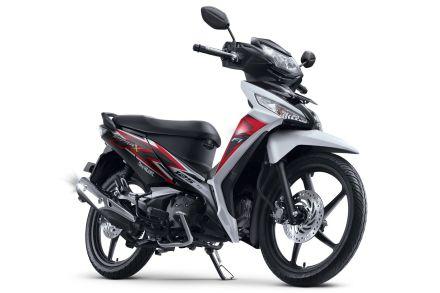 Honda Supra X 125 tipe CW warna Luxury White/ Putih