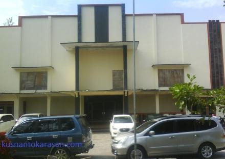 Aula Balai Desa Palbapang tampak depan