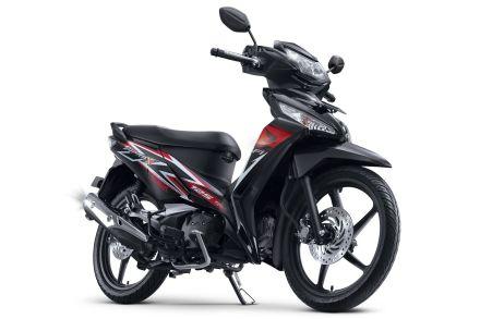 Honda Supra X 125 tipe CW warna Stylist Black/ Hitam