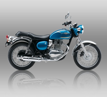 Kawasaki Estrella biru