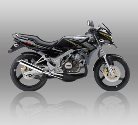 Kawasaki Ninja R warna Hitam