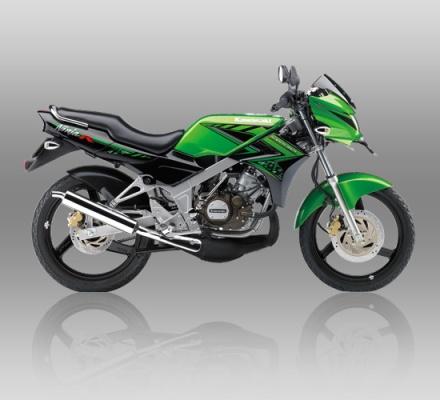 Kawasaki Ninja R warna Hijau