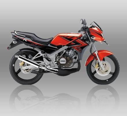 Kawasaki Ninja warna Merah